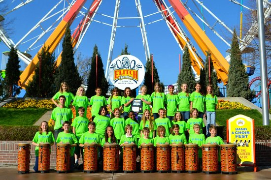 Fun With Drums At Elitch Gardens