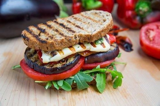 popular-halloumi panini - Picture of Jandaya Cafe, The Crags ...