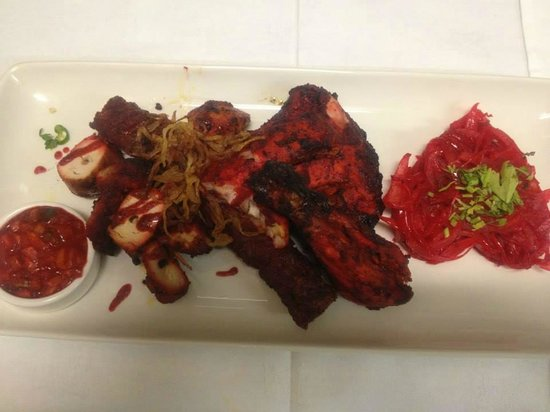 Mix grill platter photo de indian spice alsager for Designhotel 21 cakov makara