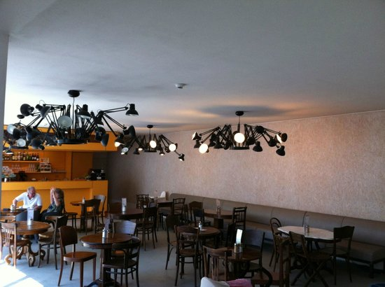 cafe - picture of dox - center of contemporary art  prague