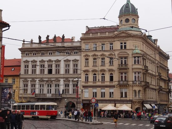 Hotel on the corner picture of malostranska residence for Malostranska residence tripadvisor