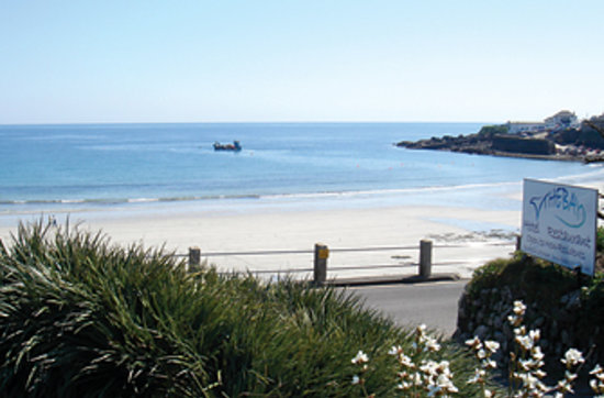 Coverack United Kingdom  city photo : Little Trevothan Caravan and Camping Park Photo: The beach at Coverack