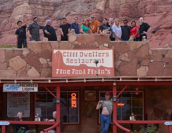 The Cliff Dwellers Restaurant: 2013 restaurant crew !! what a great year !!
