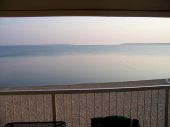 Pinestead Reef Resort: View from balcony.