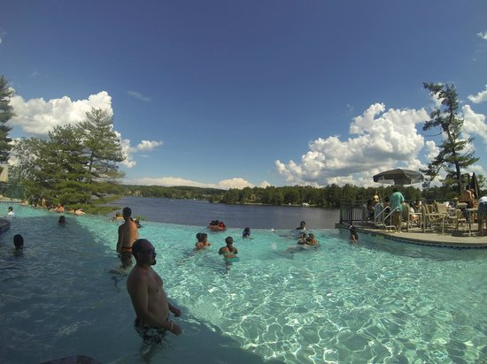 Pool Side Picture Of Wilderness On The Lake Wisconsin