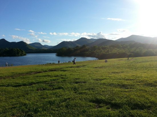 Theatre by the Lake: View of Derwent water by the theatre