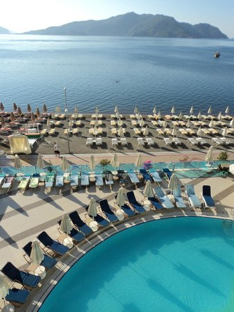Hotel Marbella: View from room 314