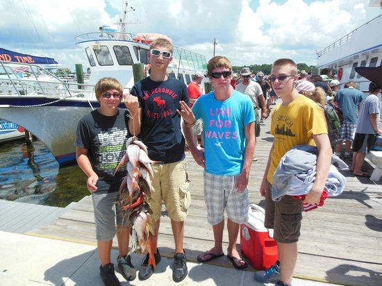 Waste of time picture of jubilee fishing panama city for Panama city beach party boat fishing