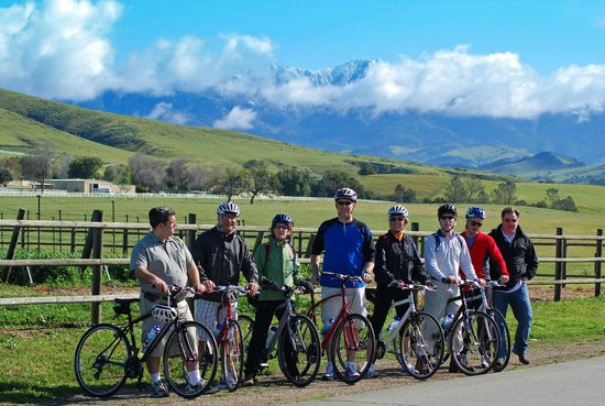 Santa Barbara Wine Country Cycling Day Tours