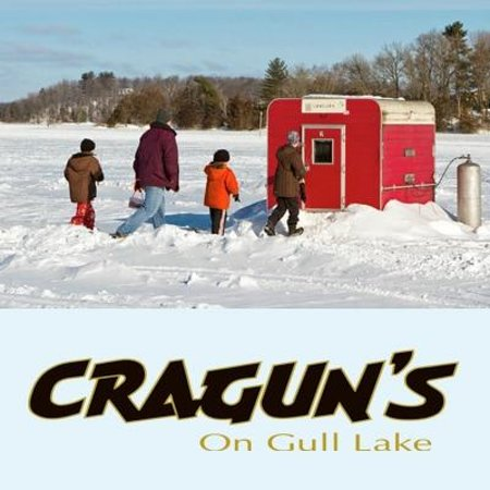 Gull lake is one of mn 39 s finest ice fishing lakes 4 6 for Ice fishing rentals mn