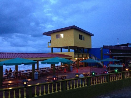 Sunset And Life Guard Stand Picture Of Rancho Estero Y