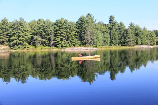 Bell Lake Near Site 179 Picture Of Killarney Provincial