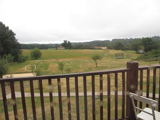 Le Lindois, France: View from first floor