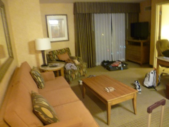 Doubletree Suites by Hilton Hotel Anaheim Resort - Convention  Center: Lounge area