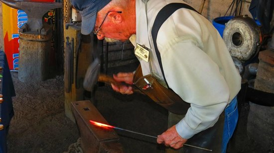 New Mexico Farm and Ranch Heritage Museum: Blacksmith