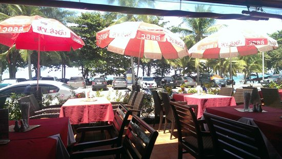 Jomtien Boathouse: View from the restaurant