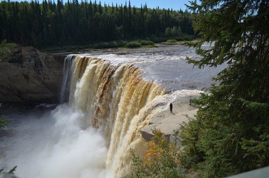 Northwest Territories, Canada: The Falls