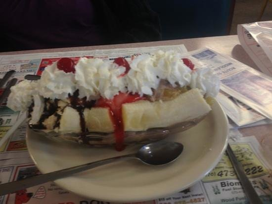 Northumberland, PA: great home made ice cream. best banana split I've ...