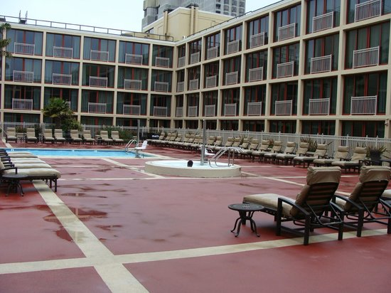 Outdoor Roof Top Pool And Spa Pool Picture Of Hilton San Francisco Union Square San Francisco