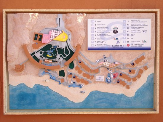 A Map Of The Complex Picture Of Club Regina Los Cabos