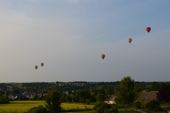 Novotel Amboise: The view from our room.