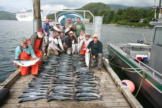 Great day of fishing picture of islandview resort and for Sitka fishing lodges