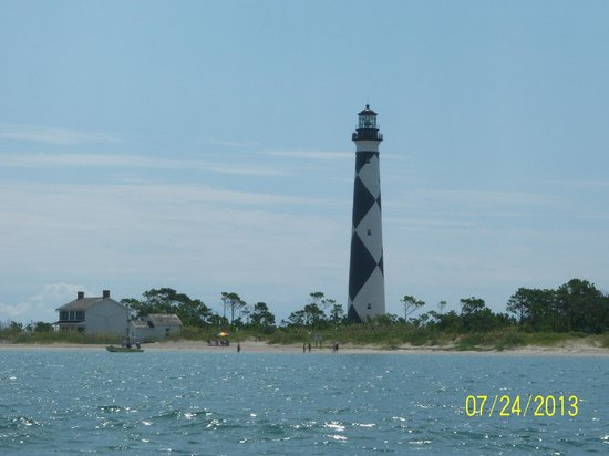 Lighthouse for Harkers island fishing report