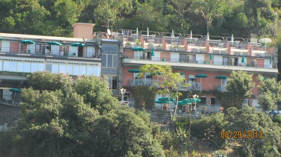 pic of hotel from ferry boat picture of hotel porto roca. Black Bedroom Furniture Sets. Home Design Ideas
