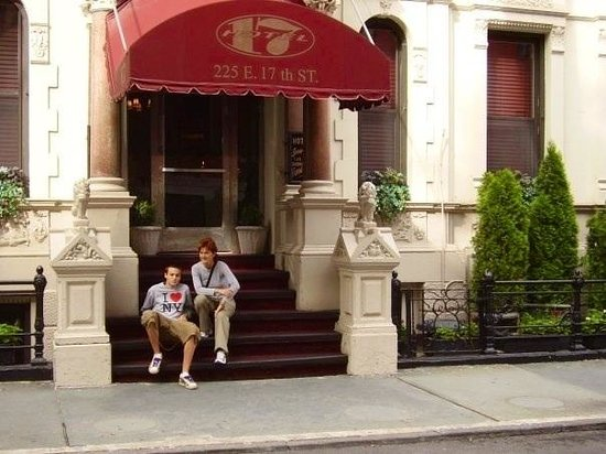 Hotel 17: Me and my son NYC