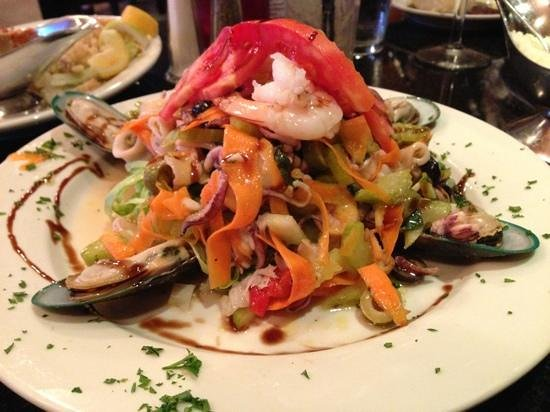 Amazing mediterranean seafood salad picture of amante for Amante italian cuisine deerfield beach