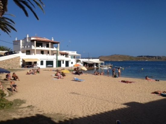 Na Macaret Spain  city pictures gallery : Na Macaret beach a stones throw from Acuario Picture of Restaurante ...