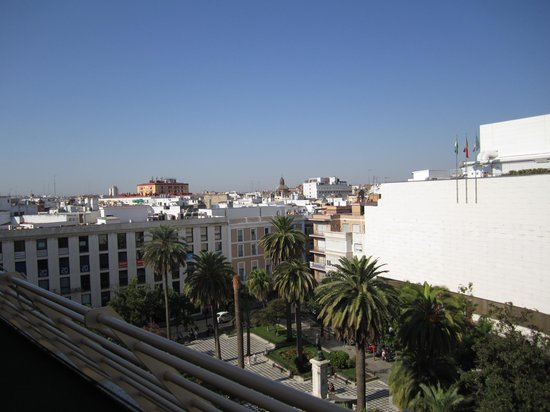 Hotel Derby Sevilla: From the terrace