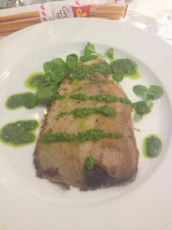 Tonno al pesto di rucola photo de spotorno ligurie for Hotel meuble giongo