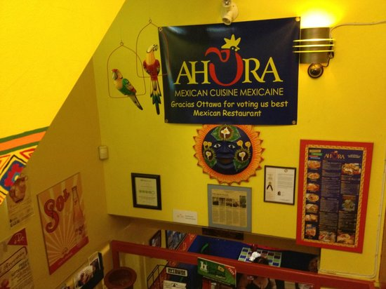 Ahora picture of ahora restaurant mexicain ottawa for Ahora mexican cuisine