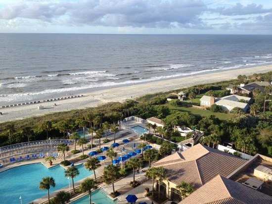 A View From Our 14th Floor Room Picture Of Marriott Resort At Grande Dunes Myrtle Beach