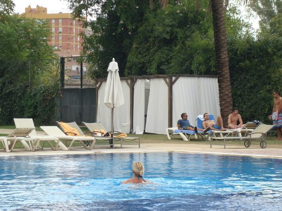 Swimming pool picture of silken al andalus palace hotel - Swimming pool seville ...