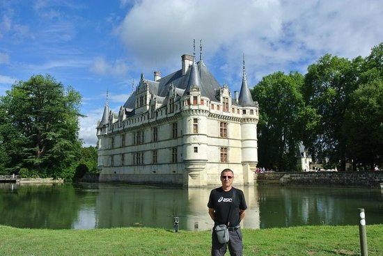 ch teau d 39 azay le rideau 1510 picture of chateau of. Black Bedroom Furniture Sets. Home Design Ideas