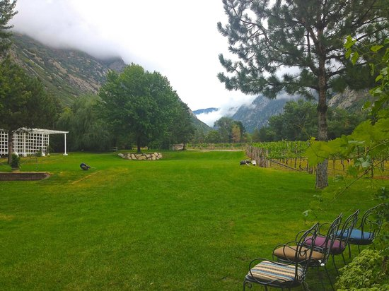 La Caille: set in the mountains of Utah
