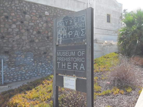 board - Picture of Museum of Prehistoric Thera, Fira ...