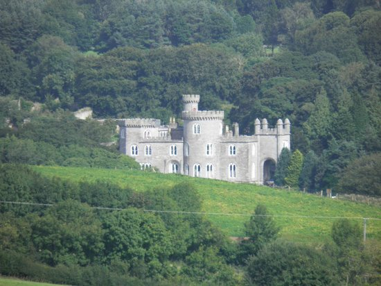 Cookstown, UK: Killymoon Castle from the fort