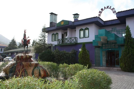 Front Of Hotel Picture Of Spa Herakles Termal Otel
