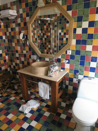 Casa Rozelor - boutique hotel: Loved the basin!