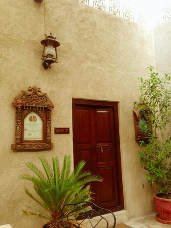 Orient Guest House: The entrance of my room