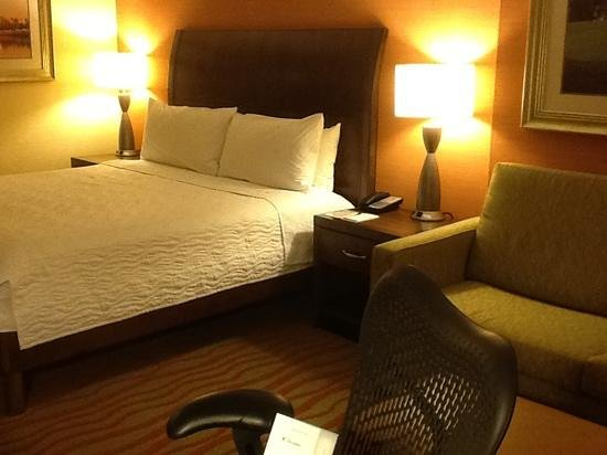Hilton Garden Inn Arlington Courthouse Plaza: king room with couch in view