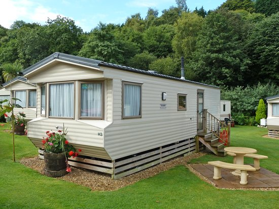 """Hele Valley Holiday Park: Hele Valley """"Dove"""" caravan. Thoroughly recommended."""