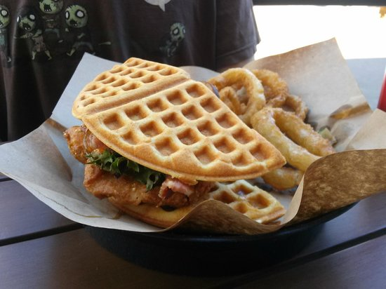 Stock and Barrel: The Chicken & Waffle -- a big favorite
