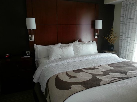 Residence Inn Charleston North: King bed