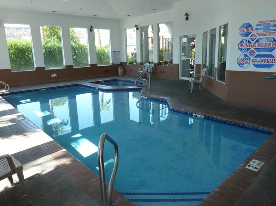 Indoor Pool Only 5ft Deep But Still Very Cool Picture Of St George Inn Suites St George