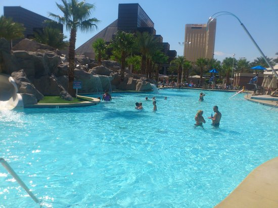 The Hotel From Across By The Mgm Grand Tower 1 On The