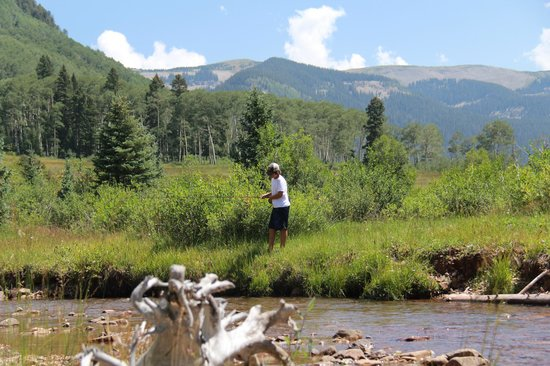 Fly Fishing Picture Of Majestic Dude Ranch Mancos